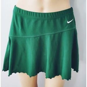 💙Nike Green Team Mini circle Skirt M 8-10